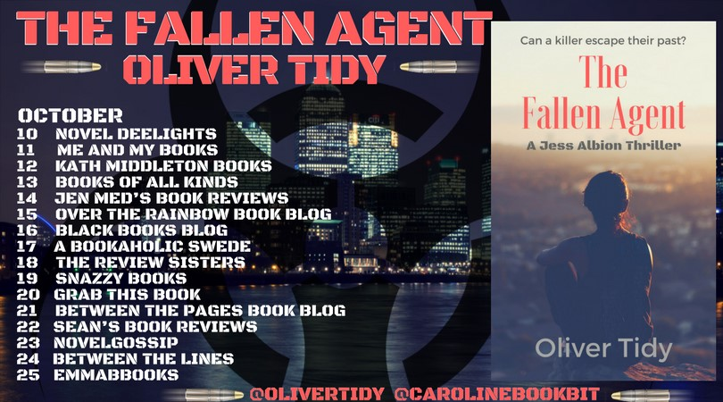 The Fallen Agent Blog Tour